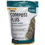 Safer 3050-6 Ringer Plus-Compost Starter Kit Brand, 2 lb, White