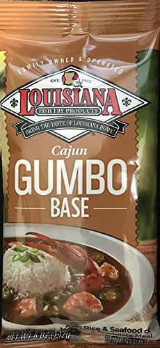 Louisiana Cajun Gumbo Base 5.0 oz (Pack of 12)