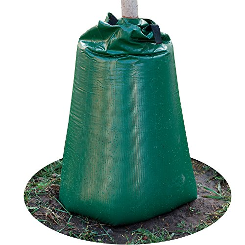 Tree Watering Bags - Drip Irrigation Bag - Gator Bags for Watering - Planting Water Bag for Trees - Slow Release Watering Bag for Trees - 20 Gallon - Reusable