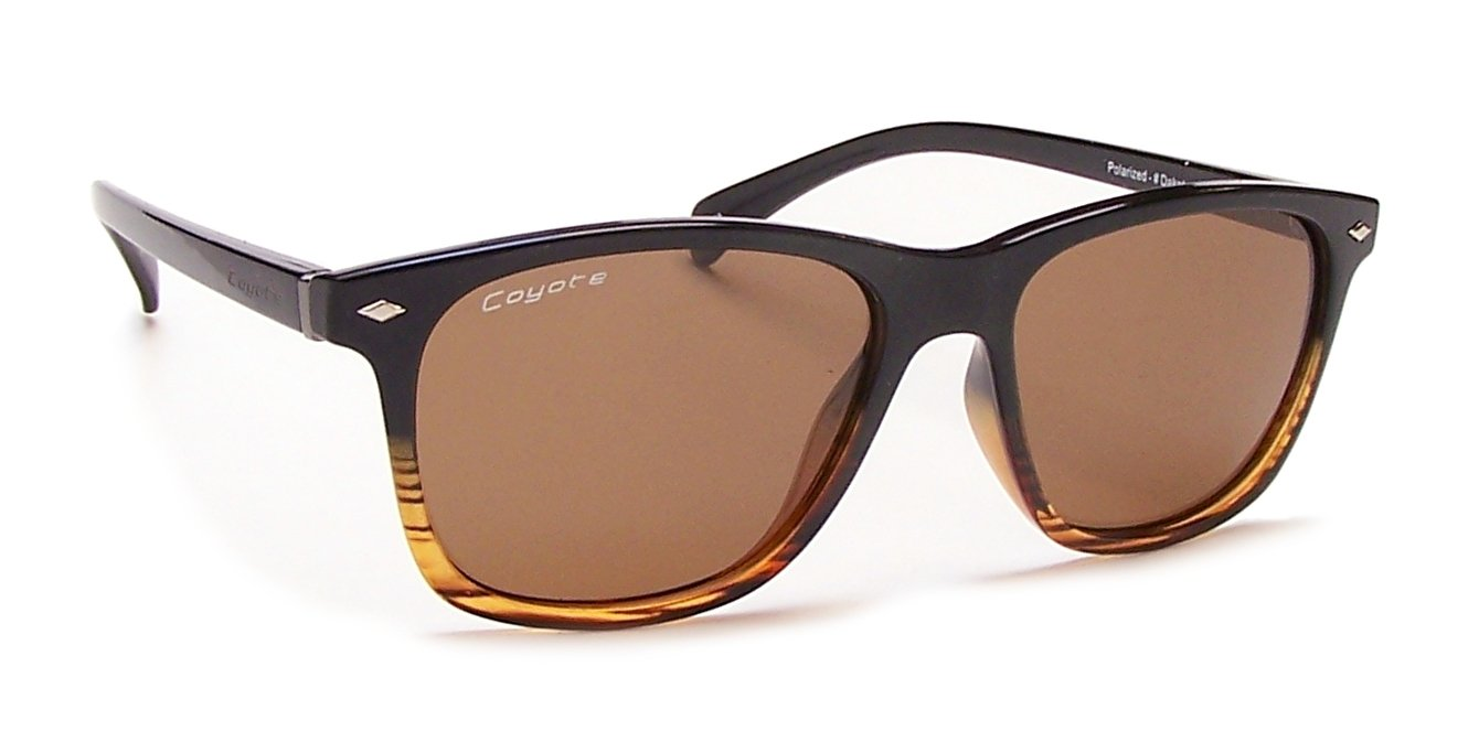 Amazon.com: Coyote Eyewear Dakota polarizadas Street & Sport ...