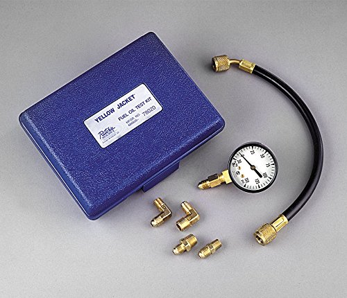 oil burner pump pressure gauge - 1