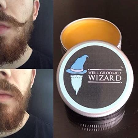 Well Groomed Wizard Cera Fuerte para la Barba y Bigote | Cera de ...