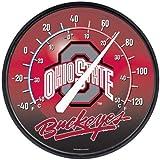 "NCAA 0791215 Ohio State University Round Thermometer, 12.75"""