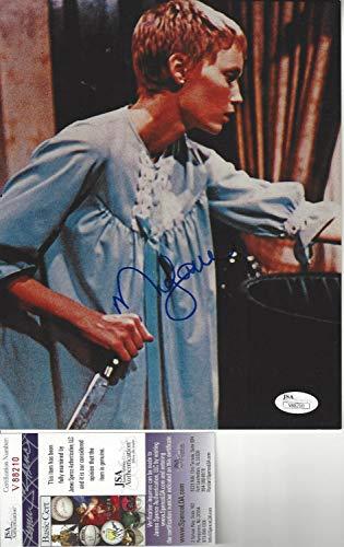 Rosemary's Baby Mia Farrow Autographed Signed Memorabilia 8x10 Photo JSA Certified