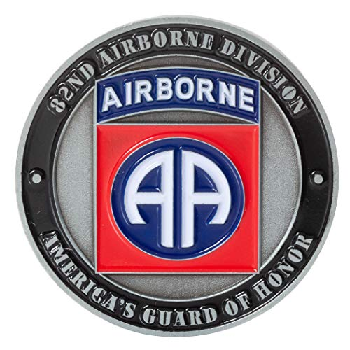 United States Army 82nd Airborne Division All American All The Way Challenge Coin