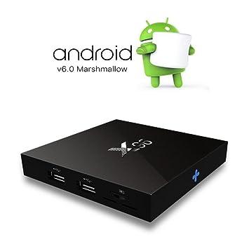 X96 TV Box,TopYart 2GB/16GB Android 6 0 Smart TV Box: Amazon