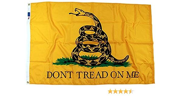 Paquete De 2-3x5 ft primero Azul Marino Jack DONT TREAD ON Maine Tea Party Gadsden Bandera rf