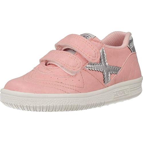 Zapatillas para niña, Color Rosa, Marca MUNICH, Modelo Zapatillas para Niña MUNICH Baby GRESCA VCO 294 Rosa: Amazon.es: Zapatos y complementos
