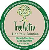 Best Concealer for Acne TreeActiv Cystic Acne Spot Treatment, Best Extra Strength Fast Acting Formula for Clearing Severe Acne from Face and Body, Gentle Enough for Sensitive Skin, Adults, Teens, Men, Women (0.25 Ounce)