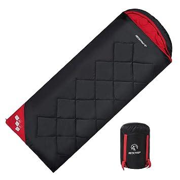 LIUDADA Saco de Dormir - Saco de Dormir Adulto Exterior de algodón Saco de Dormir Desmontable Doble 1.7kg (Color : Negro): Amazon.es: Deportes y aire libre