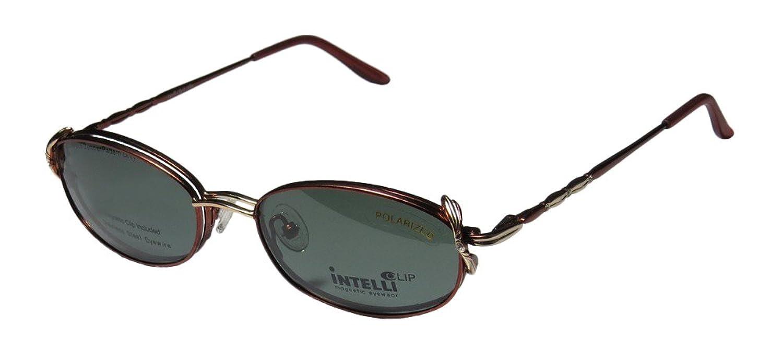 New & Season & Genuine - Brand: Elite Eyewear Style/model: 710 Gender: Womens/Ladies Optical Gorgeous Designer Full-rim Rhinestones Spring Hinges Sunglass Lens Clip-Ons Eyeglasses/Spectacles