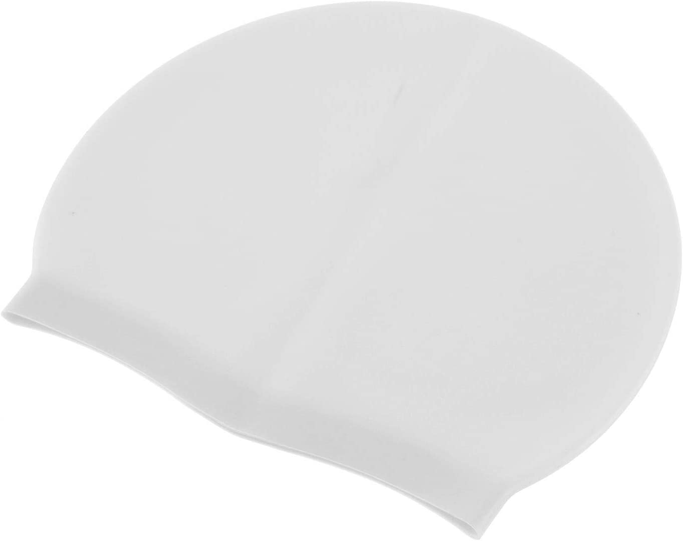 1 Pcs EliteKoopers Silicone Elastic Flexible Adult Swimming Hat For Swim Cap