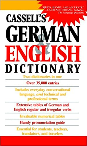 Cassell's German & English Dictionary 1st Edition