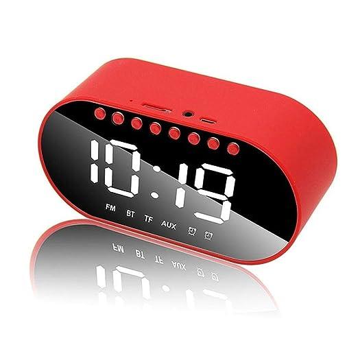 WUYANSE Reloj Despertador LED multifunción Reloj para el hogar ...