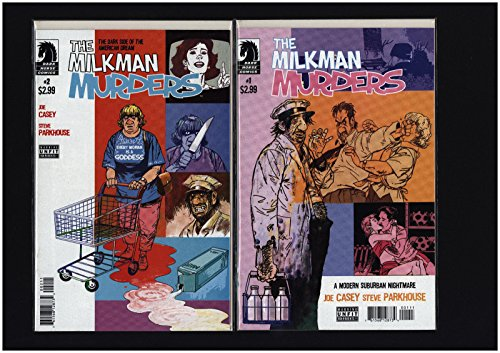 Milkman Murders #1-4 Full Set Complete Run Casey VF/NM Dark Horse Comics LG1