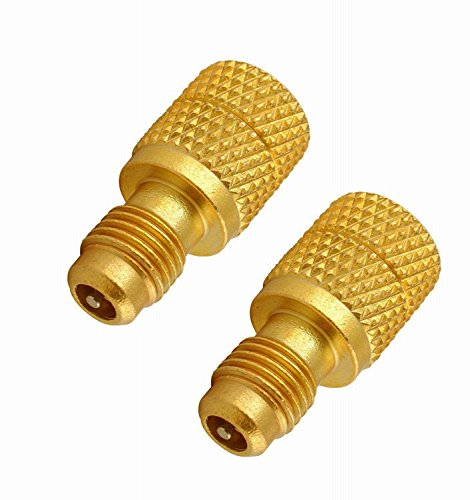 - GooMeng4S Acme AC R134a Brass Adapter Freon Fitting 1/4