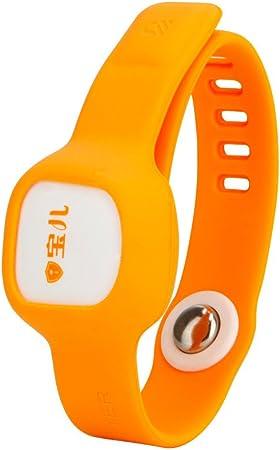 Termómetro Medidor de temperatura termómetro reloj de pulsera Bluetooth Smart muñeca reloj para bebé, niños conectar con smartphone App por Bluetooth Datum grabadora: Amazon.es: Hogar