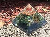 emf protection energy generator meditation Green Aventurine Orgone Pyramid