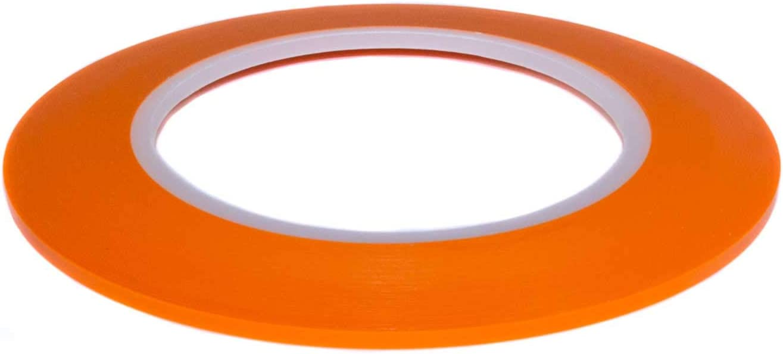 Dondo Fineline Konturenband Zierlinienband Lackieren Airbrush Masking Tape Orange 3mm X 55m Baumarkt