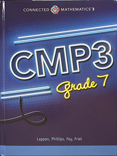 Connected Mathematics 3. CMP3, Grade 7. 9780133278132, 0133278131.