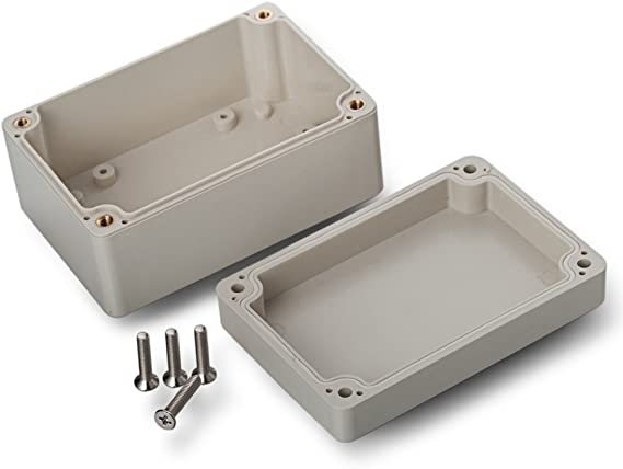 EDI-TRONIC carcasa caja recinto industrial vac/ío en aluminio 90x36x31mm FA9 IP66