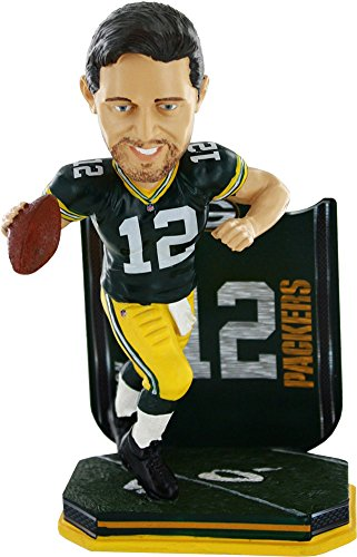 Forever Collectibles Aaron Rodgers Green Bay Packers Name & Number Bobblehead NFL