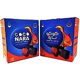 2 - Box of 120pcs Coconut Coco Nara Coconara Premium Lighting Hookah Hokah Charcoal Coals- Total 240pcs by CocoNara
