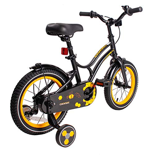 Kid's Bike for Boys and Girls 14 Inch Bicycle with Training Wheels (Bike Inch 14 Boys)