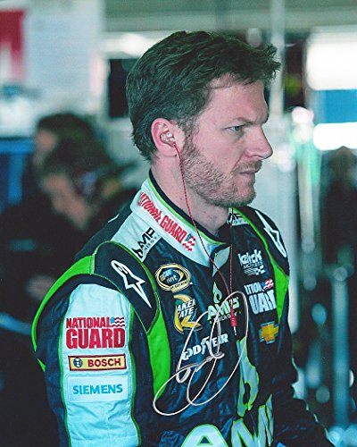 AUTOGRAPHED 2012 Dale Earnhardt Jr. #88 AMP Energy Racing Team (Hendrick Motorsports) Garage Area Signed Picture 8X10 NASCAR Glossy Photo with COA
