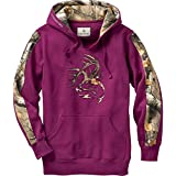 Legendary Whitetails Ladies Outfitter Hoodie (Purple Plum, Medium)