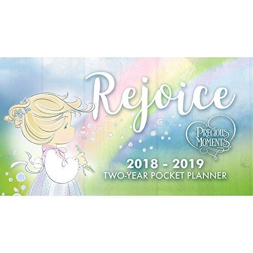 Precious Moments Rejoice 2018-2019 Illustrated Pocket Pla...