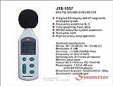 Sinometer JTS1357 Audio Digital Sound Level Meter,DB Meter, Decibel Measure Pressure Tester
