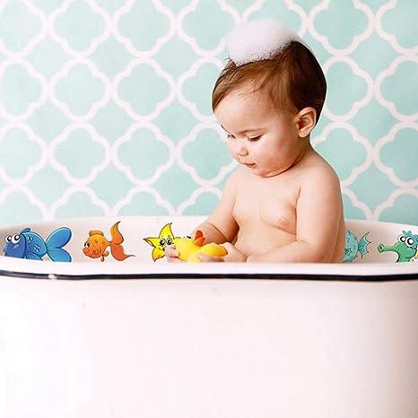 HPiano Anti Rutsch Sticker f/ür Badewanne,10 St/ück Duschmatte Badematte Badewanneneinlage Anti Rutsch Pads Sticker Aufkleber Meerestiere entfernbar