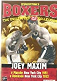 BOXING - JOEY MAXIM v MURPHY 1951, ROBINSON 1952 - VERY COLLECTABLE NOW DAYS AND BECOMING VERY HARD TO FIND - NEW NOT SEALED - VERY RARE IN THIS CONDITION