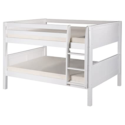 Image Unavailable. not available for. Color: Camaflexi Full Over Low Bunk Bed Amazon.com: in White: Kitchen