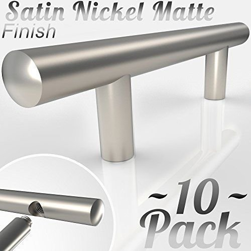 "[3.75""~10 Pack] Bar Handle Pulls for Kitchen Cabinets 