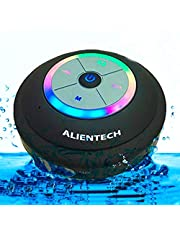 Waterproof Bluetooth Speaker With Color Changing RGB Light's With On/Off Switch, Waterproof/Water Resistent Wirless Shower Speaker, mp3 player with bluetooth, With FM Radio, Compatible With All Bluetooth Device's, Waterproof Speaker Great For And Compatible With IPhone X, 8/8 Plus 7/7 Plus, For Samsung Galaxy Note 8, S8/S8 Plus S7/S7 Edge And All Bluetooth Devices, Bluetooth Speakers Waterproof, Durable With 8 Gig Sd Card, Sd Card Reader,Usb Sd Card reader,Extra suction Cup,Small Accessory bag