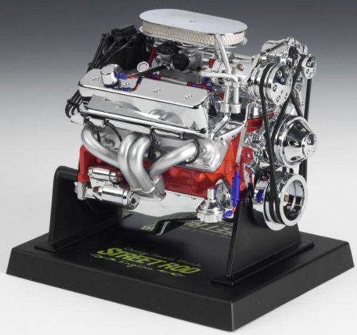 Liberty Classics Chevy Street Rod Engine Replica, 1/6th Scale Die Cast - Diecast Engine