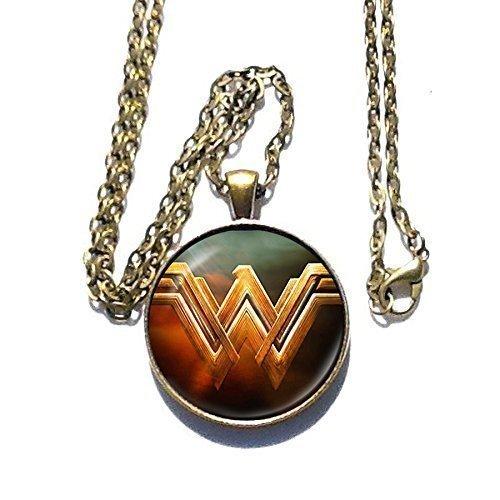 Amazonian Warrior Princess Costume (Wonder Woman movie inspired pendant necklace - WW - HM)