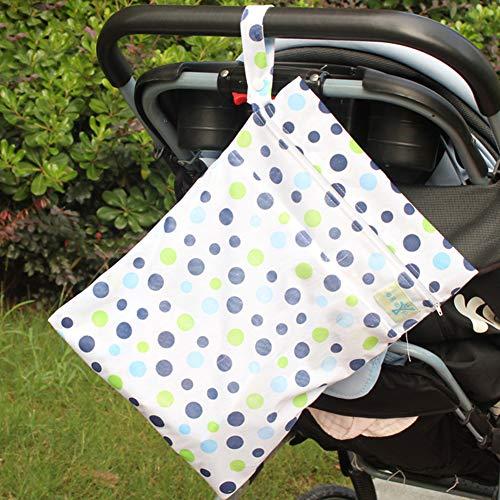 pannolini ofvsdhftgj porta 4 auto girasole cerniera con mucca DOT impermeabile pannolini della 1 Baby rwwq5