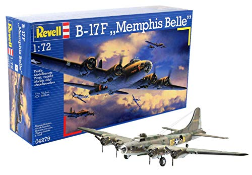 (Revell of Germany B-17F Memphis Belle Plastic Model Kit)