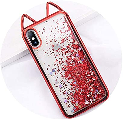 red clear coque iphone 6
