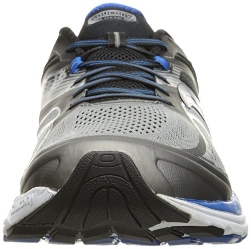 Saucony Men's Guide 10 Running Shoes, Grey Black, 14 D(M) US by Saucony (Image #4)'