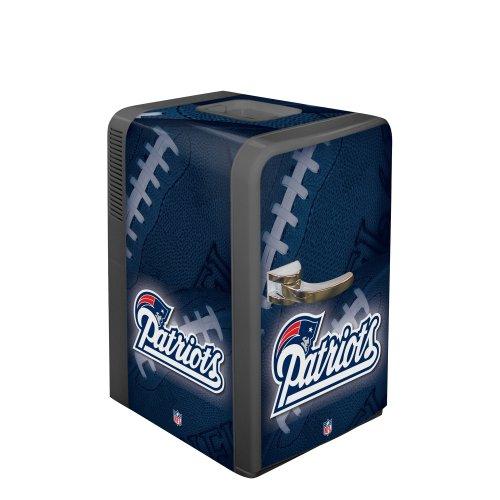 NFL New England Patriots Portable Party Fridge, 15 Quarts