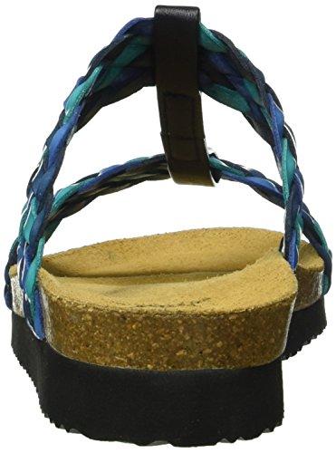 Lico Blau tuerkis blau Bas Chaussons Bleu tuerkis Natural Fashion Femme r8qrT