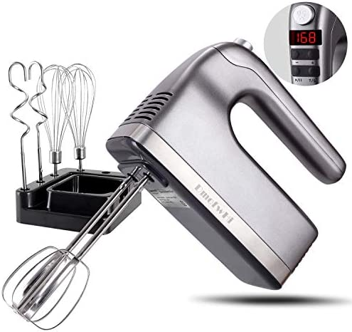 DmofwHi 9-Speed Hand Mixer Electric with