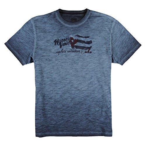 engbers Herren Rundhals T-Shirt, 23805, Blau