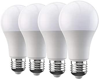 Broadlink BestCon Smart WiFi Bulb, E27 Dimmerabile LED Light, Compatible with Alexa, Google Home, IFTTT, 4 Pack