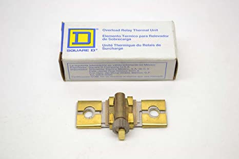 NEW LOT OF 3 SQUARE D OVERLOAD HEATER THERMAL UNIT B0.63