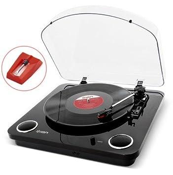 iON MAX LP tocadisco Madera - Tocadiscos (Madera, 33 1/3,45,78 RPM ...